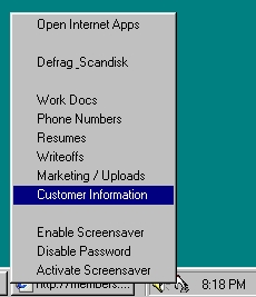 Click to view EasyTray System Tray screenshots
