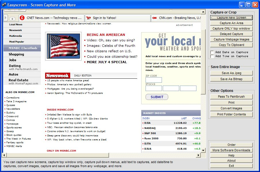 Click to view Easyscreen 3.15 screenshot
